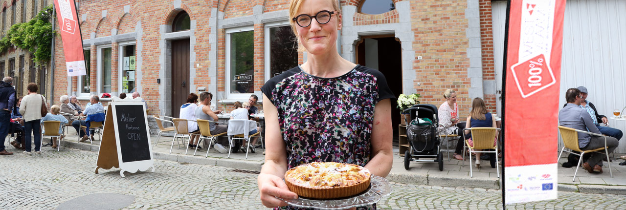 Greet Six van Atelier Hortense in Reningelst